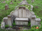 Photo of my grandfather's father's grave at Batu Lanchang cemetery