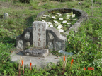 Photo of my grandfather's eldest brother's grave at Mt Erskine Hokkien cemetery