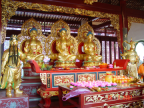 Statues of buddhas Photo