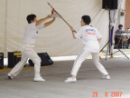 Photo of wushu presentation