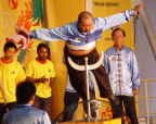Photo of shaolin presentation