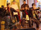 Photo of silat presentation