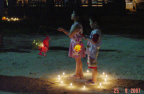 Photo of children with lanterns