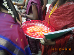Give candles to participants