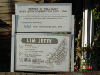 Photo of Lim Jetty Signboard