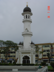 Photo of tower of Kapitan Keling Mosque