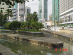 Behind Merdeka Square, confluence of Klang River and Gombak River