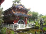 Small temple on the 'lake'