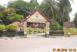 Gate into Terengganu State Museum Compound