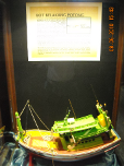 Model of a traditional boat