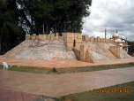 Replica of Aleppo Citadel, Syria